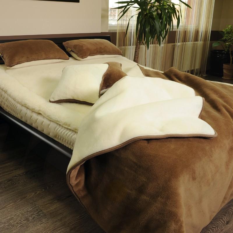Zestaw Camel Classic- kołdra+poduszka