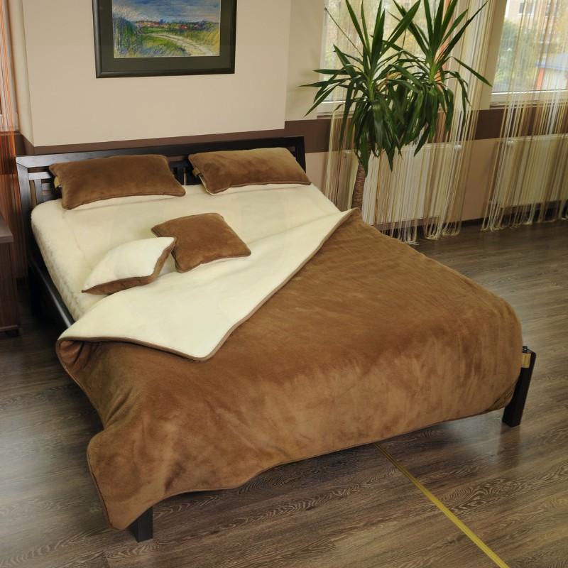 Zestaw Camel Bianco- kołdra+poduszka